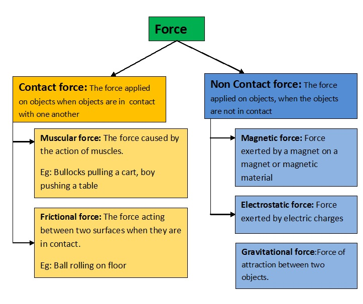 CBSE-8-Force and Pressure-notes